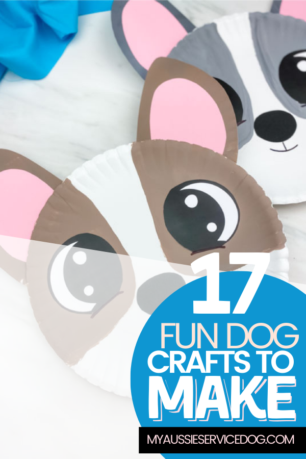 17 Fun Dog Crafts Families Can Make article cover image of paper plate dogs