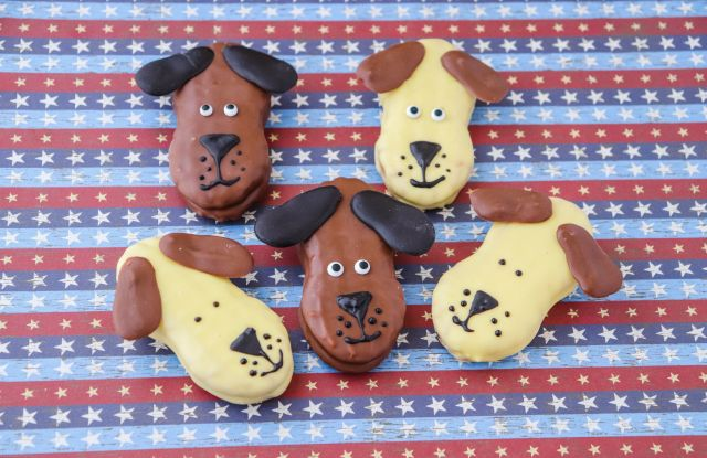 Nutter Butter Dog Face Cookies for Hoomans: A Tutorial