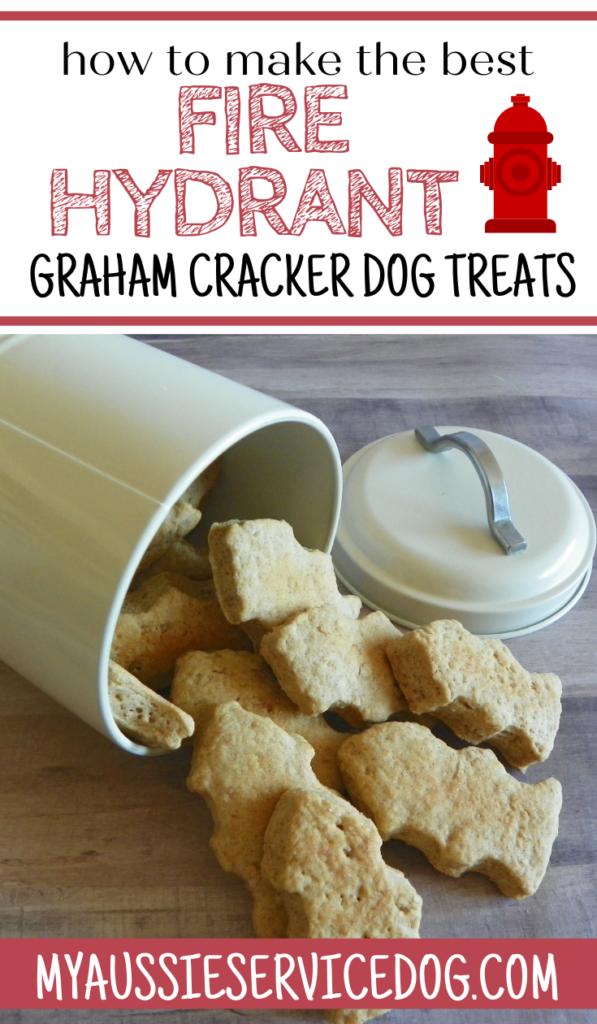 The Best Fire Hydrant Graham Cracker Dog Treats