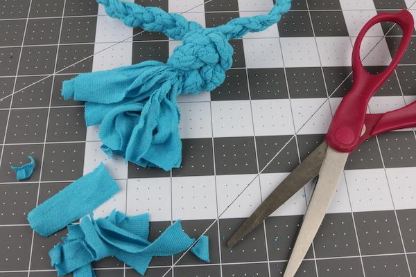 DIY rope toy