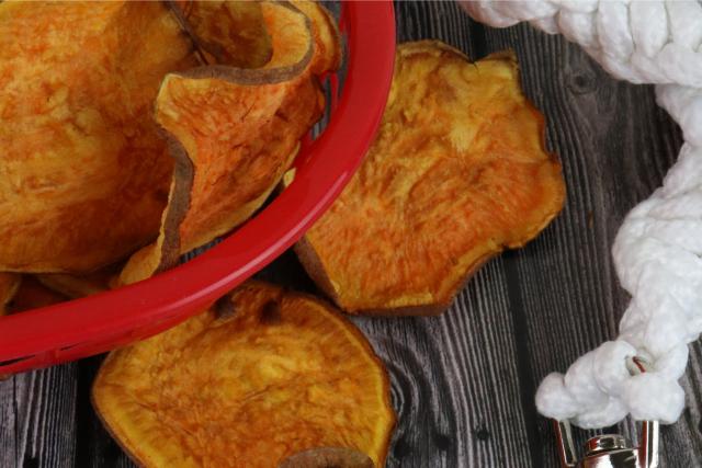 The Best Air Fryer Chicken Sweet Potato Dog Chews